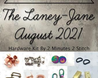 Laney-Jane Bag - August 2021 Hardware Kit - Bag of the Month Club - Emmaline Bags - Janelle MacKay