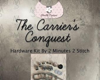 Carrier's Conquest Bag Hardware - ChrisW Designs - Hardware Kit Only