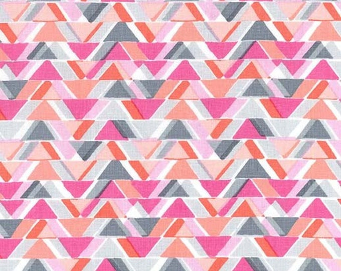 Sassy Cats by Michael Miller - All Angles Pink - Cotton Woven Fabric
