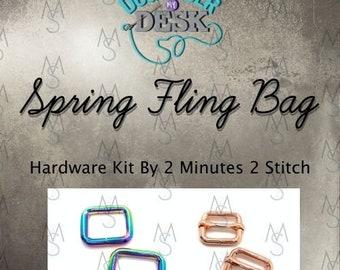 Spring Fling Bag - Dog Under My Desk Hardware Kit