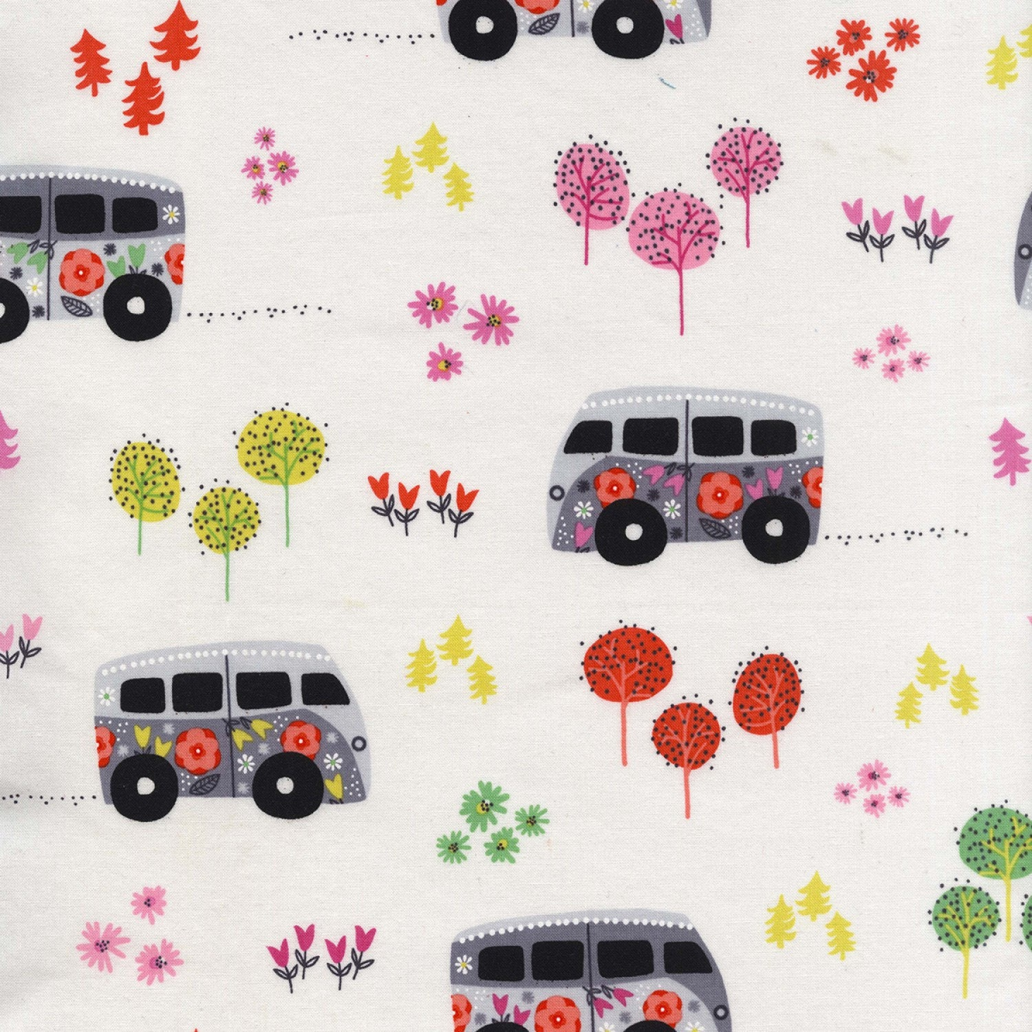 Road Trip by Michael Miller - Hit The Road Happy - Cotton