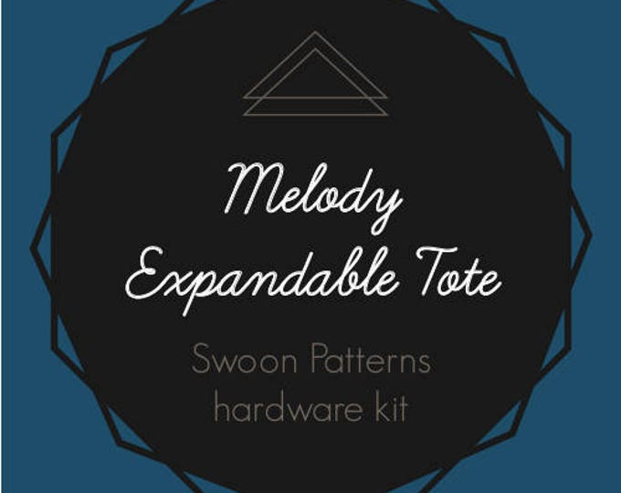 Melody Expandable Tote - Swoon Hardware Kit
