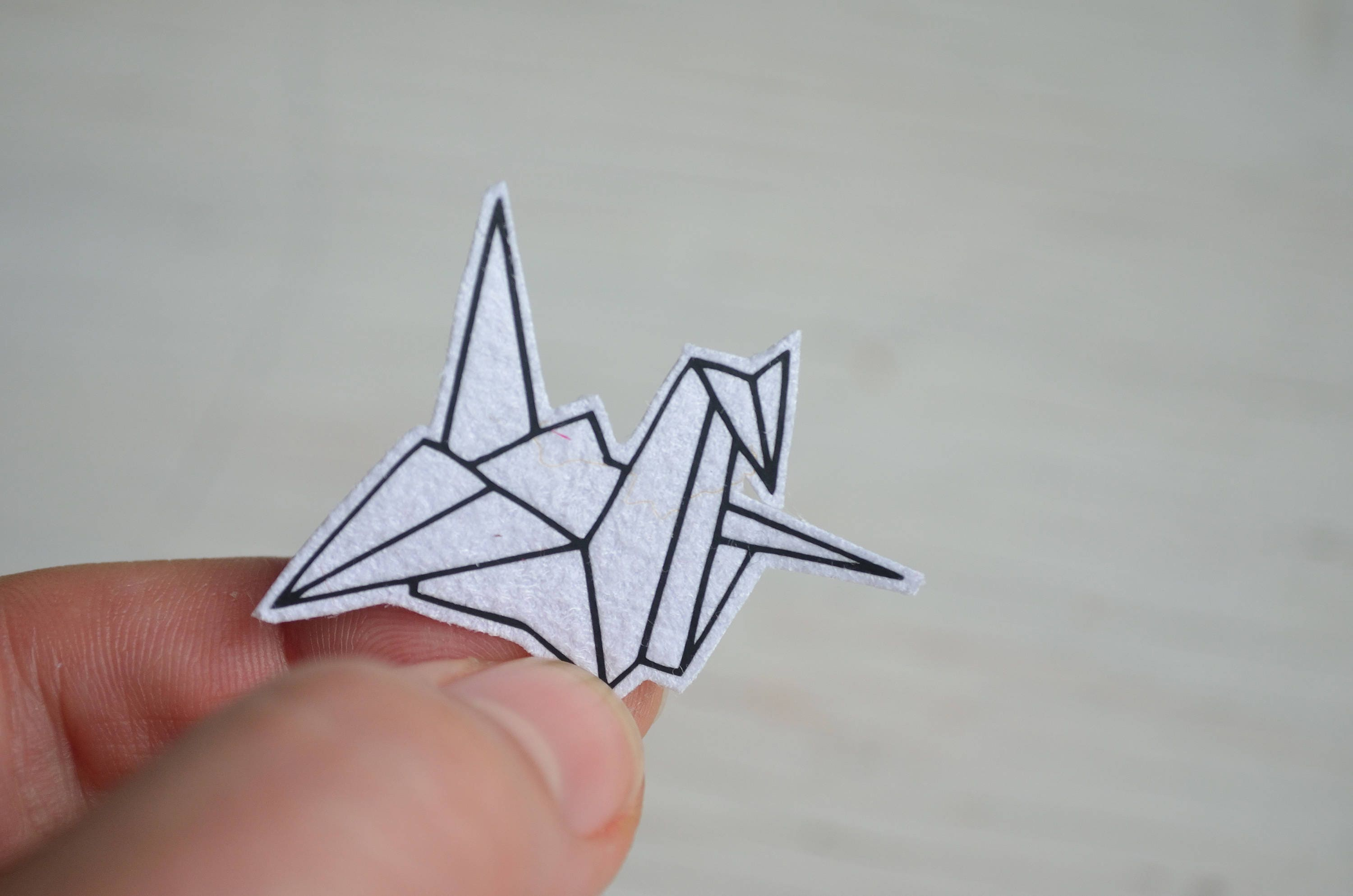 Origami Crane Tumblr Patch Iron On Funny Tshirts Cute