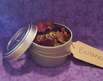 Beltane Loose Incense Herbal Blend