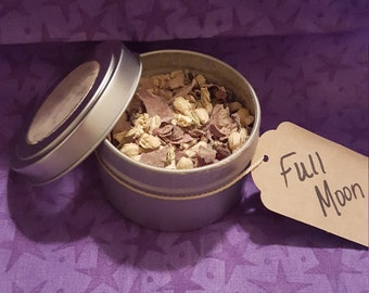 Full Moon Loose Incense Herbal Blend