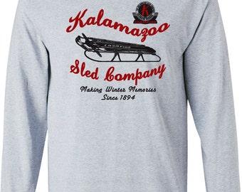 Kalamazoo Sled Company Long Sleeved Tee 1979bf1a4