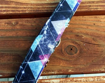 Galaxy, geometric, dog Collar, Cat Collar -space geometric, special occasion, Everyday Collar, galaxy, Pets- Martingale