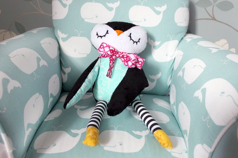 Children's Plush Penguin Toy image 0