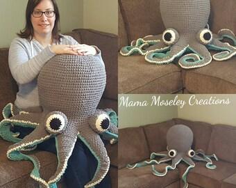 Huge Crochet Octopus
