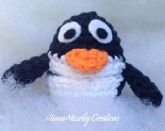 Penguin Christmas Buddy Crochet Pattern