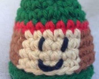 Elf Christmas Buddy Crochet Pattern