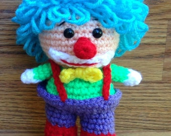Crochet Boy Clown
