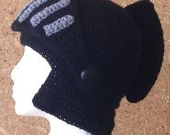 RTS Knight Helmet Crochet hat