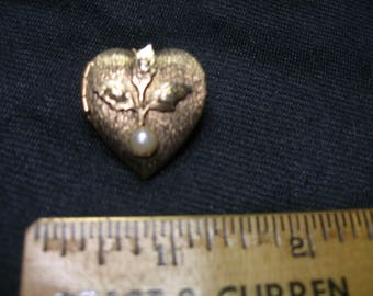 Heart Locket Pin/Pendant(668)