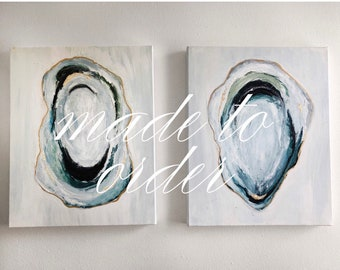 Duo Set - Oyster Paintings