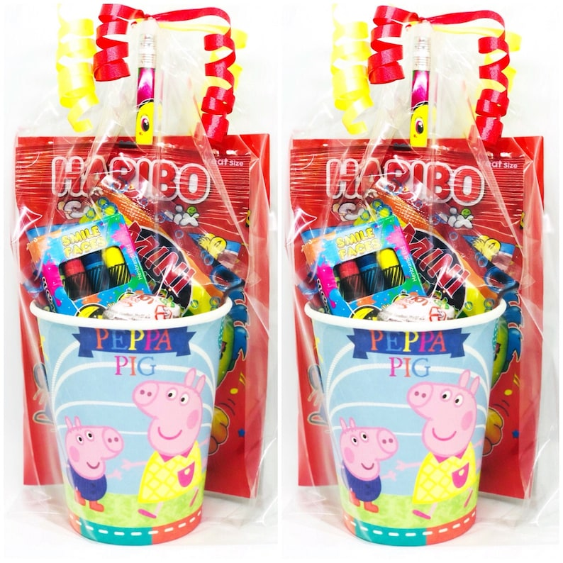 Peppa Pig Pre Filled Party Bags/ Children's Pre Filled image 0