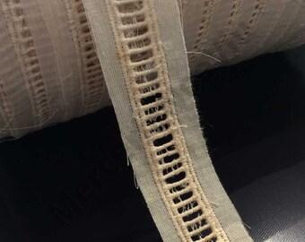 Or Métallique Fil GUTERMANN mousseux effet paillettes fil 50 m bobine