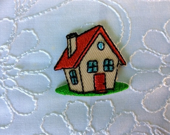 """Patch home sweet home  embroidered  kindergar daycareten 1,2""""x 1,2"""""""