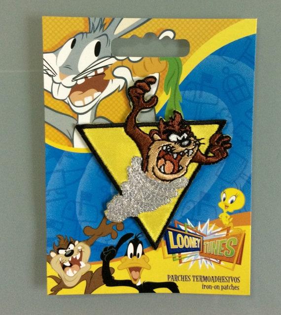 Taz New Looney Tunes Applique Bib or Bugs Bunny Tweety