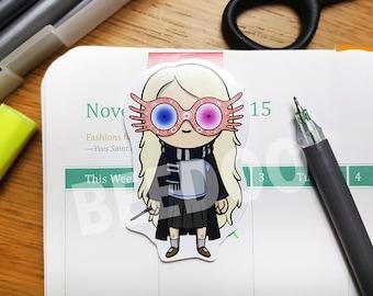 Loony Luna Lovegood Magnetic Bookmark