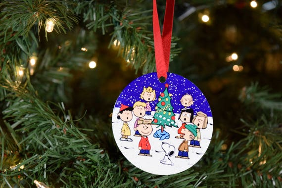 Snoopy And Woodstock Christmas Ornaments.Charlie Brown Snoopy Woodstock Doghouse On Christmas Ornaments Charlie Brown Woodstock Christmas Charlie Brown Ornaments