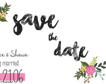 Custom Save the Dates