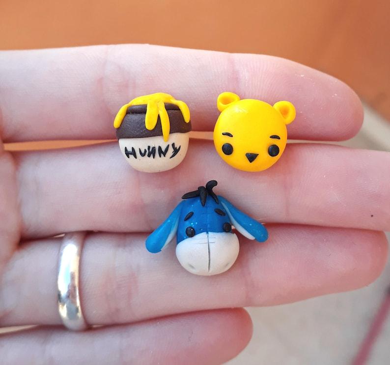 Miel The Pooh Pendientes Y Igor Winnie K3uTF1Jcl