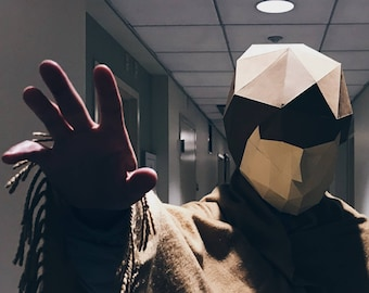 Luke Skywalker Mask - Build your Starwars costume