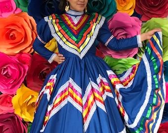 MEXICAN zarape skirt  and rebozo SIZE  8-12  Handmade Beautiful Frida Kahlo style KIDS   boho hippie dress coco theme sarape zarape