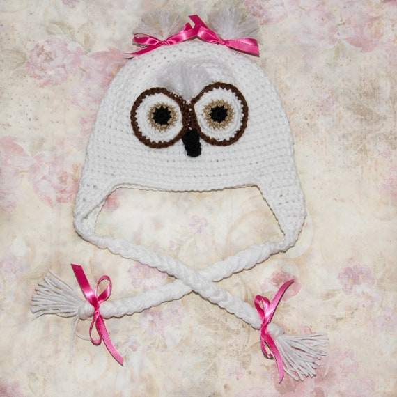 Crochet owl hat Owl beanie for baby Winter hat for children  1fd288bc283a