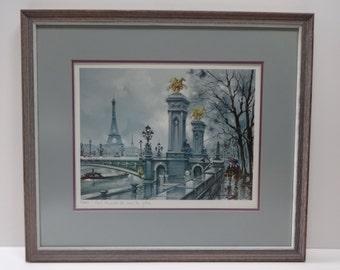 Print, Art Print, Framed Art Print, Paris Print, Paris Art, Framed Paris Art, French Art, French Print, Framed French Print, Wall Decor