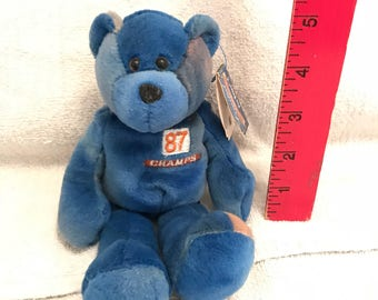 8d831c92c47ef1 Denver Broncos Limited Treasures Pro Beanie Bear