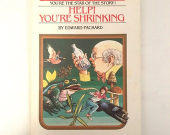 Vintage Choose Your Own Adventure Hard Back Children's Book