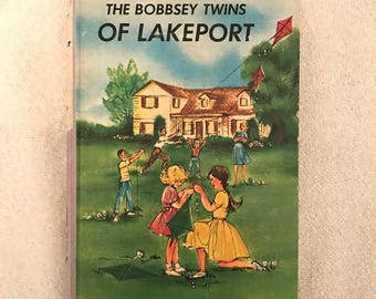 Vintage Hardcover The Bobbsey Twins Book