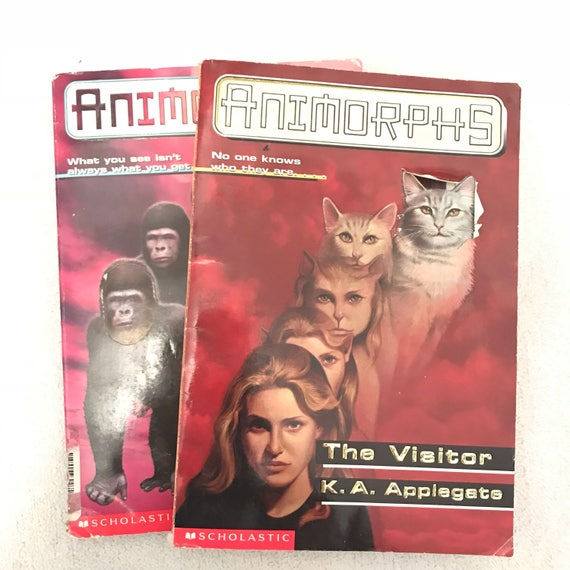 Animorphs Books Etsy