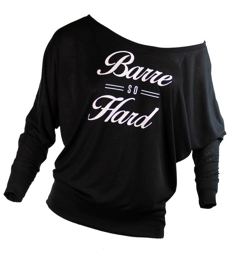 b75c95771df Barre. barre shirt. barre so hard. plus size workout clothes.