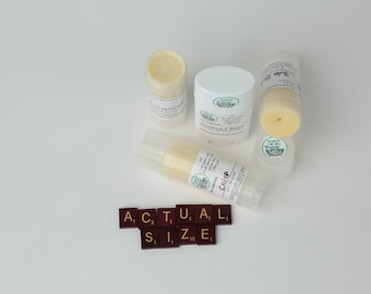 Solid lotion bar tubes by Bath Nerd