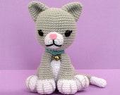 Cat Amigurumi Crochet Pattern