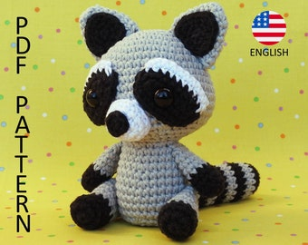 Raccoon Amigurumi Crochet Pattern