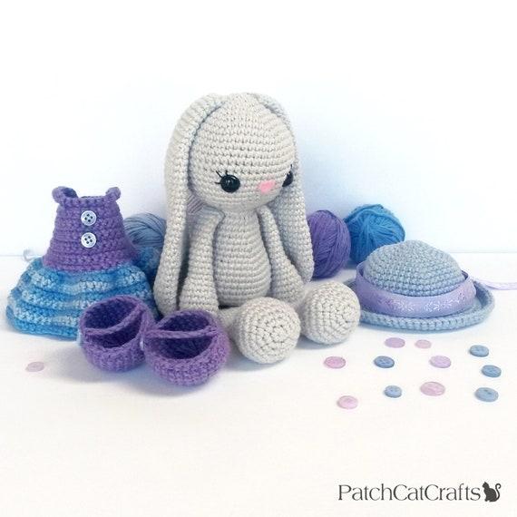 Dress up Ballerina Girl Amigurumi PDF Crochet Pattern   Etsy   570x570
