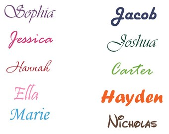 Personalized Names