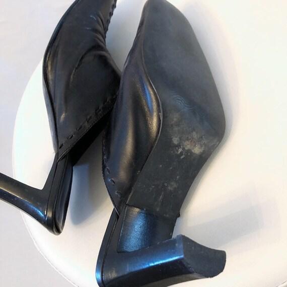 Vintage 90's Pegabo square toe mules 38 - image 5