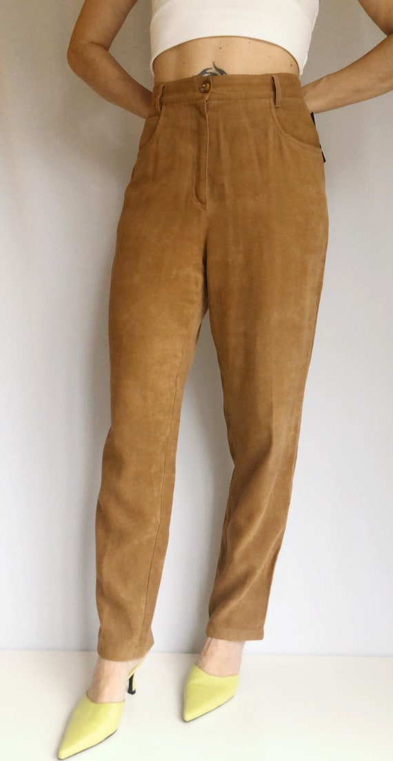 Vintage 90's Mondi Sports sueded pants 30