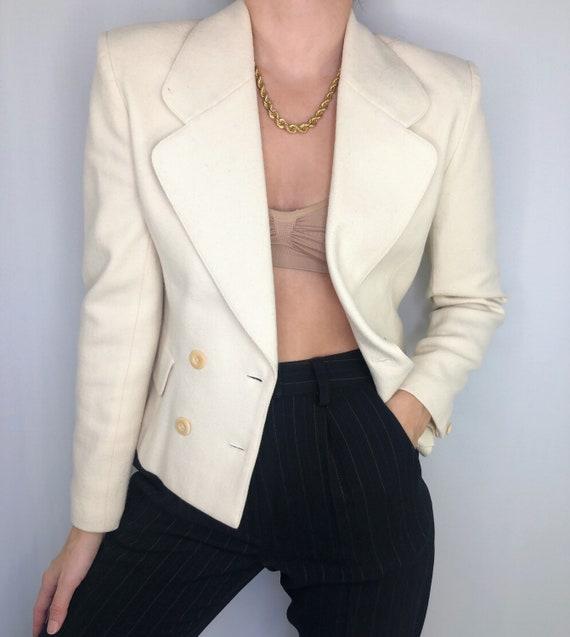 Vintage 90's cropped blazer Jacket