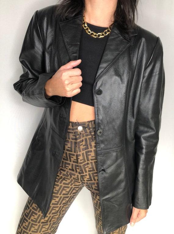 Vintage 90's Danier leather jacket S