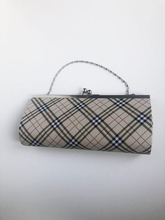 Vintage 90's Plaid Handbag Purse