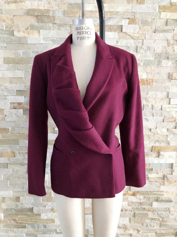 Vintage 80's Claude Montana blazer Made in Paris 4