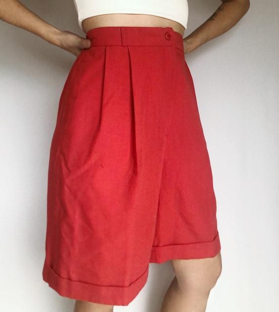 Vintage pleat Bermuda mom shorts 10