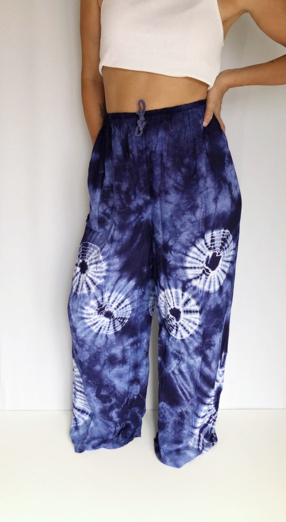 Vintage tie dye lounge pants