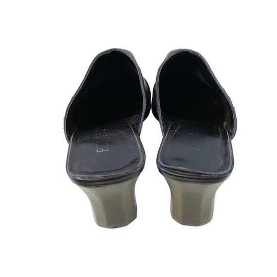 Vintage 90's Pegabo square toe mules 38 - image 3
